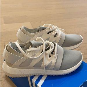 Adidas Tubular Viral Shoes Chalwhite